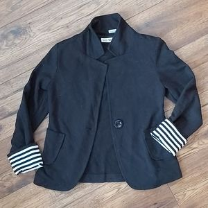 Jersey Knit Sweater/Blazer Size 7/8